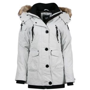 Noise Gray color winter jacket(water proof)
